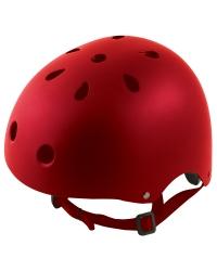Casca Biciclisti, M 54-58cm, rosu mat