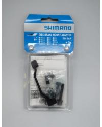 Adaptor Montaj Pt. Etrier Frana Pe Disc Shimano Sm-Ma-F180P/P2, Suruburi (Lung X1, Scurt X1), Stop Ring (Nou) X1, Saiba-A X2, Saiba-B X2, Ambalat Ind.