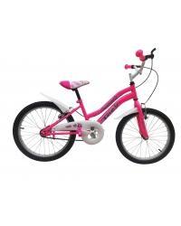 """Bicicleta Copii TEC Matilda Culoare Roz Roata 20"""" Otel"""