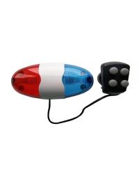 Alarma JY-155 (6 LED - 4 sunete - model Politie)