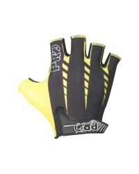 Manusi ciclism Pro Lauch culoare negru/galben marime L