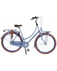 SALUTONI Excellent Bike pentru adulti - Femei - 28 inch - 56 centimetri - Albastru mat - Shimano Nexus 3 trepte - 95% asamblat