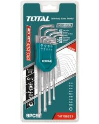 Set 9 chei imbus Torx T10-T50 Cr-V (Industrial)