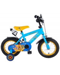 Bicicleta pentru copii Disney Toy Story - Baieti - 12 inch - Albastru / Galben culoare Rosu