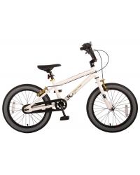 Bicicleta pentru copii Volare Cool Rider - Baieti - 18 inch - Alb - doua frane de mana - 95 asamblat - Prime Collection culoare Alb