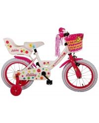 Bicicleta pentru copii Volare Ashley - Fete - 14 inch - Alb - 95 asamblat culoare Alb