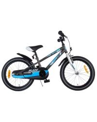 Bicicleta Volare Blade pentru copii - Baieti - 18 inch - Gri - 95 asamblat culoare Gri mat